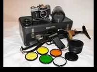 case ,camera,parts in ex condition..normal signs of