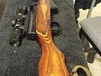 I'm offering a Russian sks purchased in march for