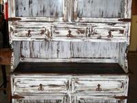 "Measures 48""x 75""x 17"" We are RUSTIC OUTLET where"
