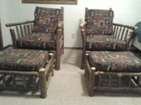 Up for sale is a 12-pc rustic furniture set. The