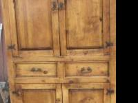 Rustic mexican armoire,,,,,Great Condition....great