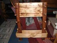 Rustic Sassafras Log Gun Rack Regular $125.00 ON SALE