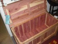 RUSTIC CEDAR CHEST $299.95 SHAKER STYLE Great for