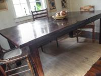 I am selling my beautiful rustic style dining table.
