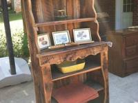 Made out of an old tobacco barn - matching hutch  It