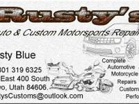 Rusty's Auto & Custom Motorsport's Repair is a