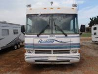 1997 Allegro Tiffin Motorhome, has a rebuilt title;