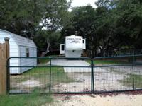 the RV is 2008 Cedar Creek, bought new, used twice and