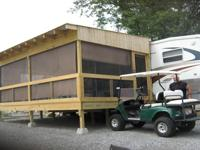 Located on lovely KY Lake. Fifth wheel camper with