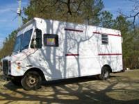 1995 Chev. P-30 Box Truck that has been semi-converted