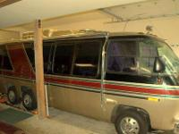 I have this late model 1976 GMC Palm Beach motorhome.