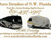 RV Detailing Services  -We come to you -We supply the