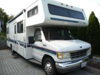 Class C 1996 Tioga 29'motorhome For Rent with 51000 mis