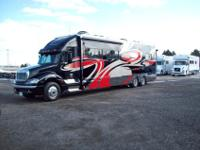 2011 Renegade RV with open taxicab design. System