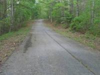 This lot is just minutes from the lake and boat ramp.It