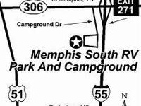 RV Camper lot rentals available at Memphis South RV