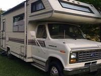 Here is a nice motorhome. Drive ready. It is a