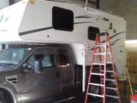 Complete camper and roof maintenance EPDM liquid rubber