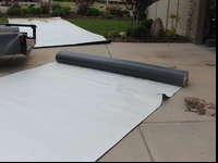 Roofing membrane for RV/Motorhome/TrailerMaterial comes
