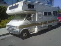 1977 Dodge Lazy daze motorhome runs and drive sleep 7