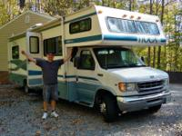 1999 Ford F450 Tioga 31 foot RV for sale condition