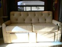 "One year old motorcoach seating. 68"" x 36"" sleeper sofa"