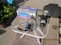 12volt waater pumps. One Surflo (never out of box) and