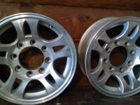"I have two 17"" RV wheels for sale.  See attached"