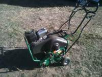 Ryan Lawnaire 4 lawn aerator, good condition. Fold down