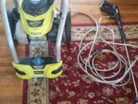 I am selling a Twice only TWO TIMES used Ryobi Pressure