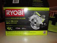 Brand new, never even assembled, circular saw with