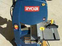 Ryobi Band Saw I have only used a few times since new.