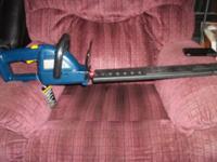 "RYOBI Cordless 18V & One+ Hedge Trimmer 20"" Blade W/"