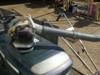 Used Ryobi handheld Leaf blower 200 mph comes with box,