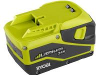 With its long-lasting charge, the Ryobi Lithium 24-Volt