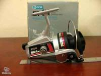 selling my ryobi sx4n silver cloud fishing reel, heavy