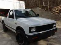 chevy s10 short bed, good rubber, v6 motor 25mpg