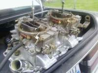 AS POSTED ABOVE SMALL BLOCK CHEVY INTAKE CARB'S AND ALL