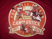 ~ San Francisco 49ers T- Shirt in Size Large. Bought 2