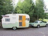 1961 Shasta Airflyte travel trailer. I've just had a