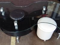 Brand NewGlass Top Coffee TableComes with 2