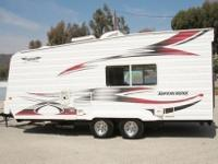 S S S Sleeps 4-66 Ft. Rear Ramp w/Spring Assist, Queen