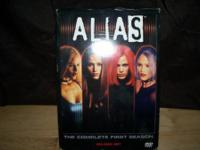DVD seasons 1 box sets of Alias, Without a Trace,