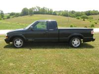 2000 Extended Cab Chevy S10 Pickup 4 Cylinder automatic