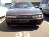 complete s13 Silvia front end 7/10 condition fiber