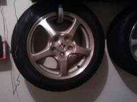 Up for sale is a set of AP1 S2000 wheels and tires. The