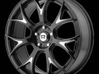S600 Mercedes MR126 20x8.5 5x112.00 BLACK (38mm) - (4)