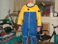 Dry suit for 5.8 to 6.2 men only, heavy