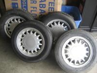 -SAAB 4 aluminum wheels 6Jx15 H2 with tires mint