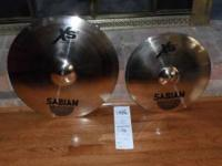 For sale are two brand new Sabian cymbals. These are